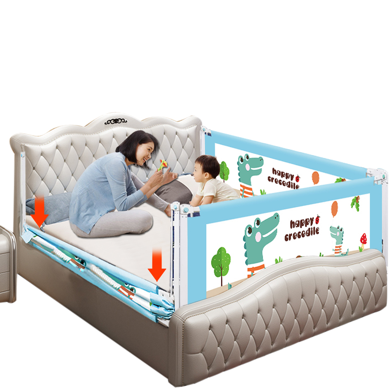 Baby Bed Fence Safety Gate Products child Barrier for beds Crib Rail Security Fencing for Children