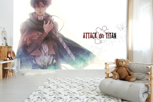 Attack On Titan Anime Wall Paper Wall Decal