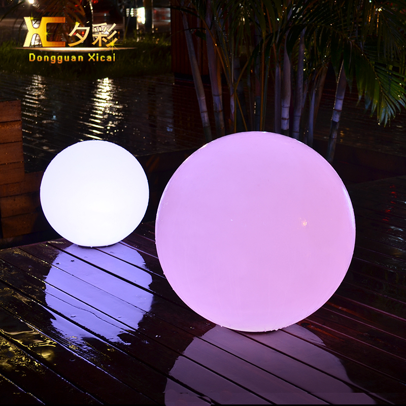 Led Ball Landscape Lighting Plastic Outdoor Lawn Light Table Lamp Decorative Floor Lamps For Bar Club Party Grand Opening