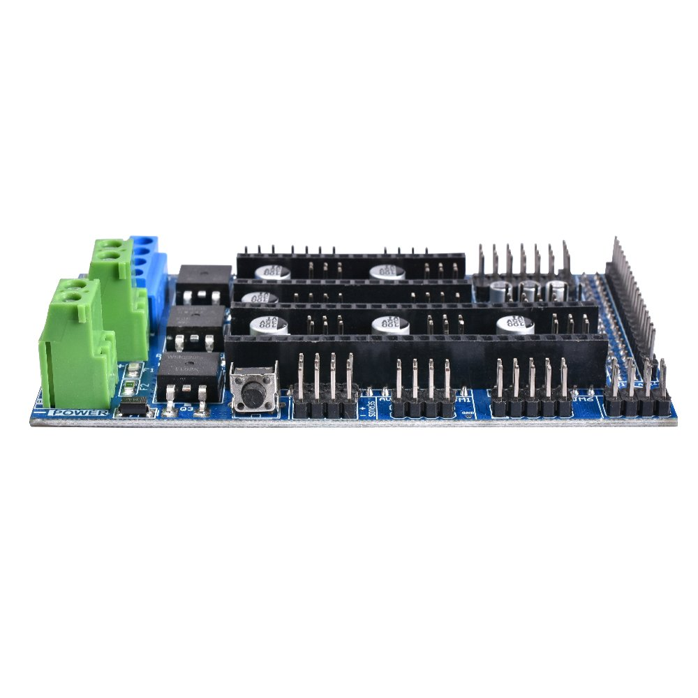 Ramps 1.6 Expansion Control Panel Board with Heatsink Upgraded Ramps 1.4 Ramps 1.5 For arduino 3D Printer Board