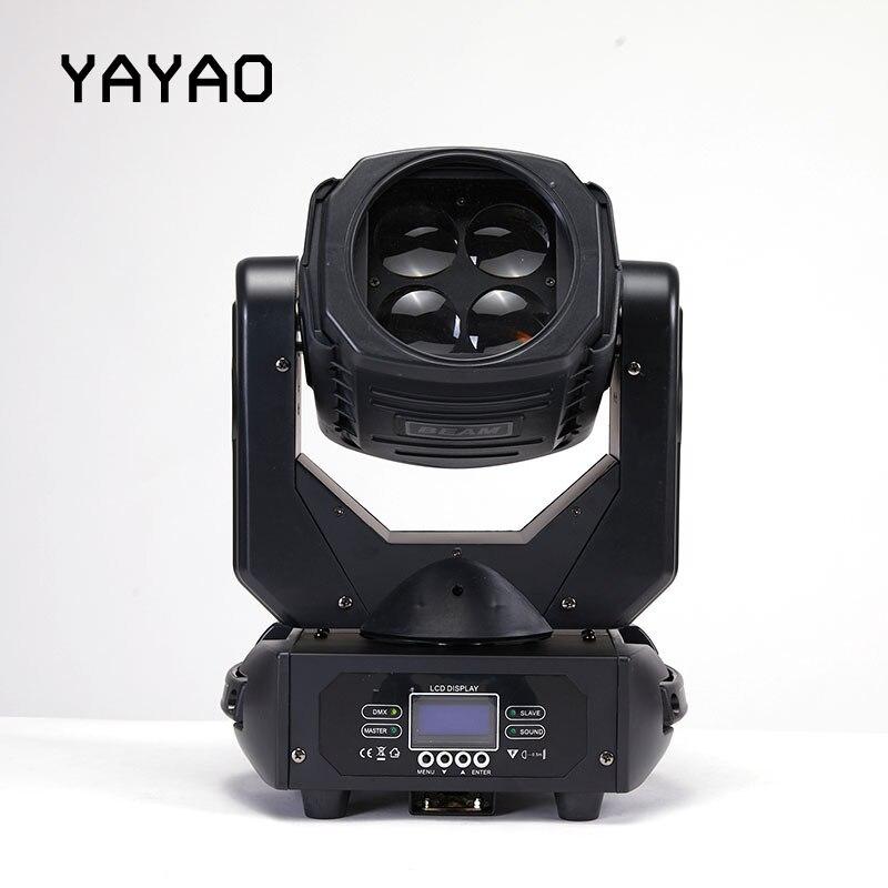 YA Yao LED 4x30W superhaz cabeza móvil luz LED efecto perfecto luz para DJ discoteca fiesta Clubs iluminación cabeza móvil - 2