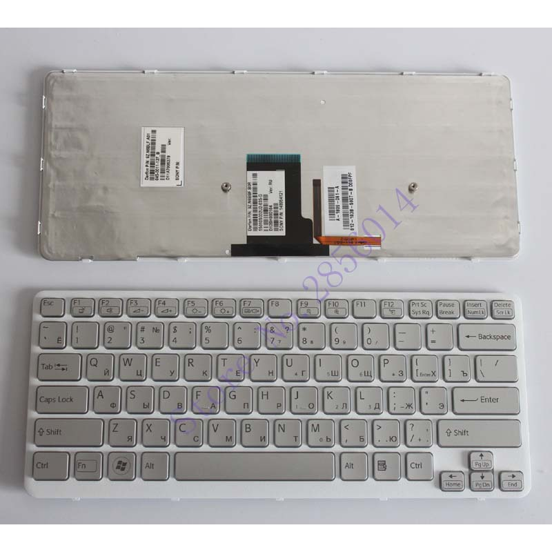 NEW FOR sony vaio VPCCA 112T CA 111T PCG 61711T 61712T 61713T Russian RU Laptop Keyboard