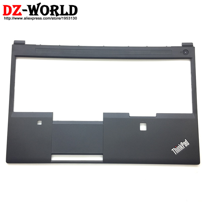New Original for ThinkPad P51 Keyboard Bezel Palmrest Cover w o Touchpad with Fingerprint CS Hole