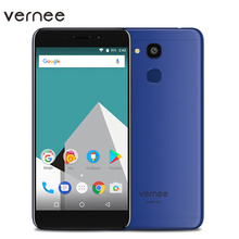 Vernee M5 Fingerprint Smartphone Android 7.0 Octa-core 4 GB RAM 32 GB ROM MTK6750 2SIM 13MP + 8MP WiFi LTE 4G 5,2 Zoll Handys
