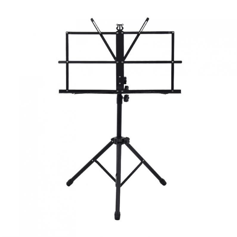 Image 3 - Folding Lightweight Music Stand Aluminum Alloy Tripod Stand Holder Height Adjustable with Carrying Bag-in Guitar Parts & Accessories from Sports & Entertainment