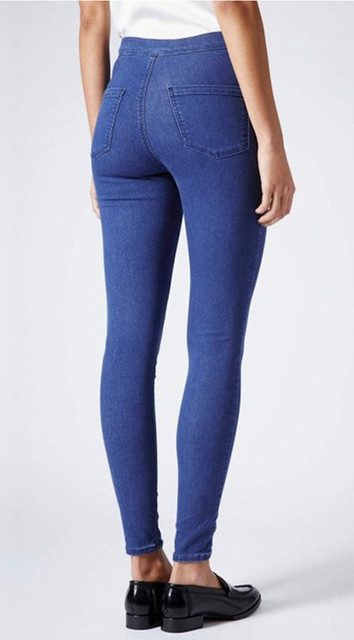 981d6aa1452b Plus size women butt lifting skinny jeans candy color long pencil pants  high waisted slim jeans elastic sculpt casual jeans