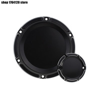 Motorcycle 6 Hole Derby Cover & Timing Timer Covers Aluminum Black For Harley XL Sportster 2004 2015 2016