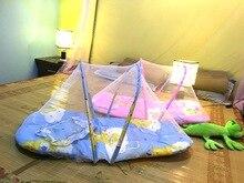 1 ШТ. 1 шт. Детские Кроватки Сетки Кровать Детская Кровать Складной Москитная сетка Младенческая Подушка Матрас Подушка Детские Кровати Оптовая КР 002