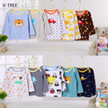 V-TREEE Baby T shirts Long sleeve T shirts  for boys girls Cotton Clothing for Kids boys and girls