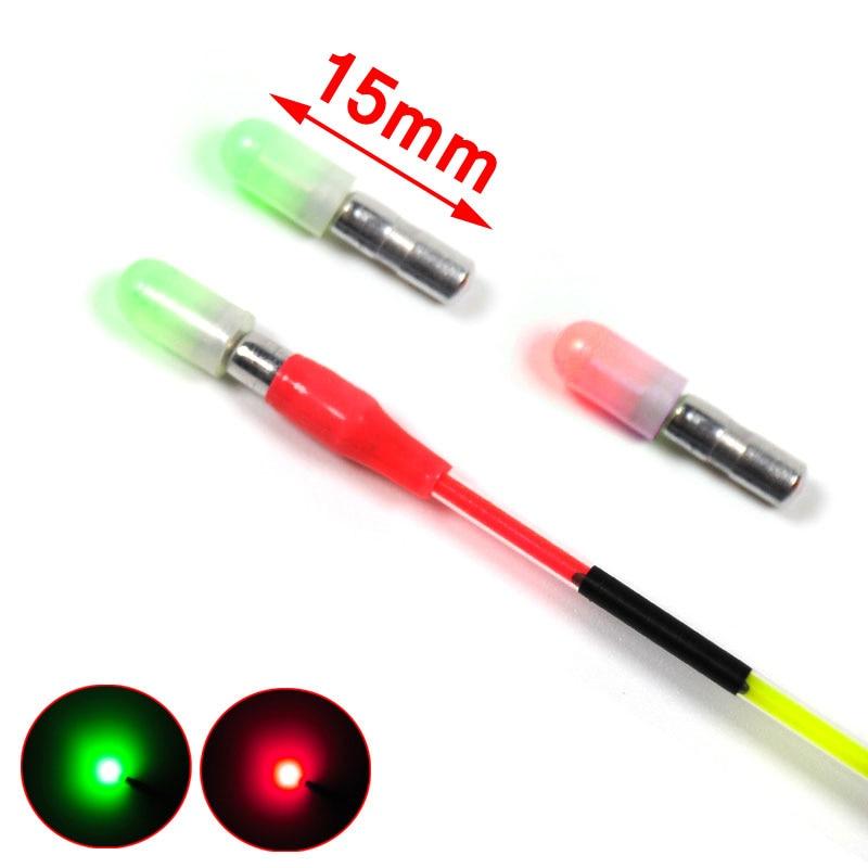 [4 förpackningar] MYCKET LITT Röd / Grön Mini 3mm Kropps - Fiske
