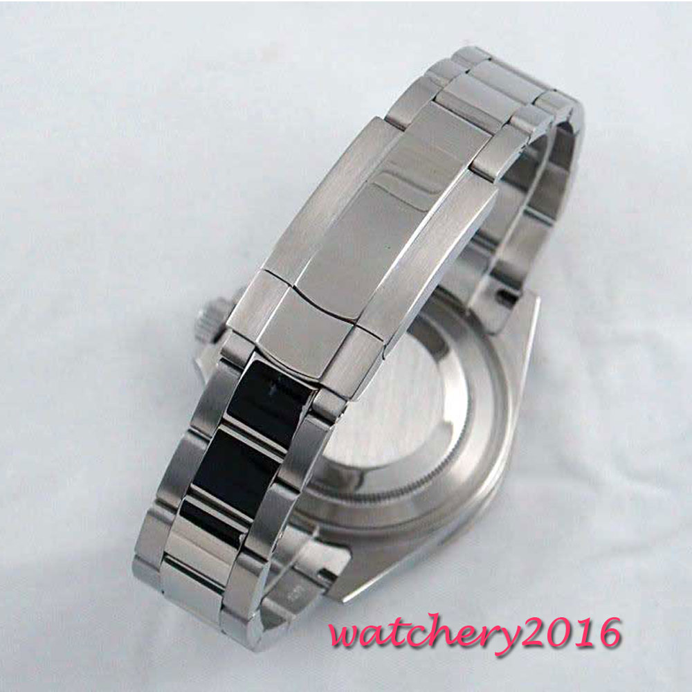 20mm 316L stainless steel solid bracelet fit 40mm Sub Homage mens watch