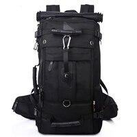 Высокая емкость Водонепроницаемый 17 дюймов ноутбук рюкзак многофункциональный большая дорожная сумка для мужчин альпинизм рюкзак мужчин