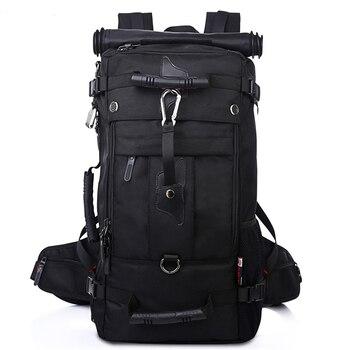 Alta capacità impermeabile 17 pollice portatile zaino multifunzionale borsa da viaggio per alpinismo maschio zaino uomini di sacchetto dei bagagli