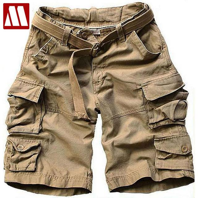 2017 Summer Men New Style Board Shorts High Quality Mens Cargo Shorts Casual Shorts with belt 10 Colors size S M L XL XXL XXXL