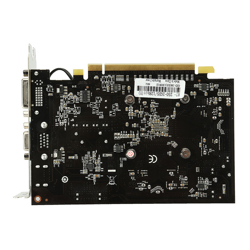 R7 250 2GB GDDR5 128bit VGA DVI HDMI Graphics Card w/ Fan Gaming PC Graphics Card graphics