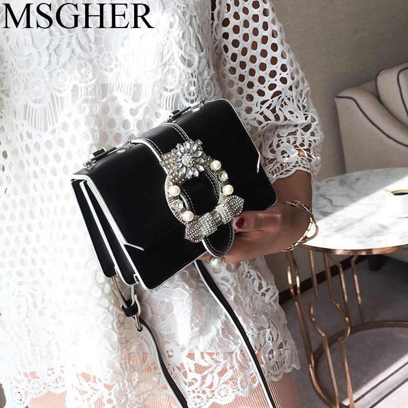 MSGHER Luxury Handbags Women Bags Designer Vintage Shoulder Chain Evening Clutch  Bag Female Messenger Crossbody Bags 26443c68c373