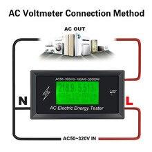 AC50~320V 100A Digital Voltage Meters indicator Power Energy Voltmeter Ammeter current Amps Volt wattmeter tester detector 3K KW grafalex 320v