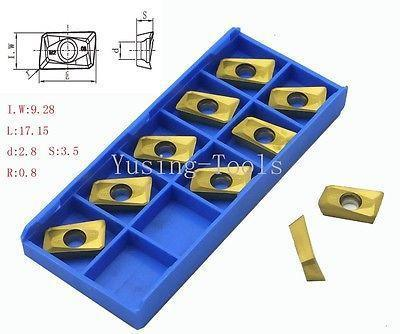 New 50pcs APMT160404PDER M2 Carbibe insert for CNC Milling and CNC Lathe 50pcs m2 0 m2 0 m2 2 m2 5 m3 0 m4 0 m5 trox screws to fix the lathe or milling or boring inserts on cnc cutting holders machine