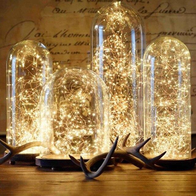 2018 Luce Della Stringa di Natale LED Ornamenti di Natale Albero Di Natale Decor