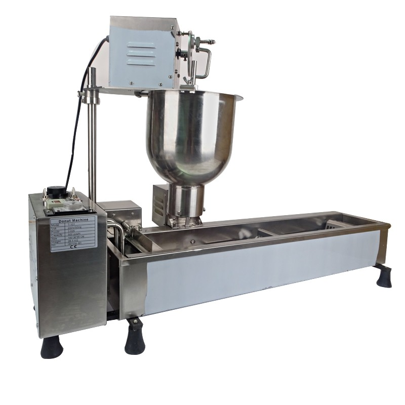 1pc Automatic donut machine Donut making machine T-101 220V/50Hz/3000W Automatic counting system with 3 set moulds automatic spanish snacks automatic latin fruit machines