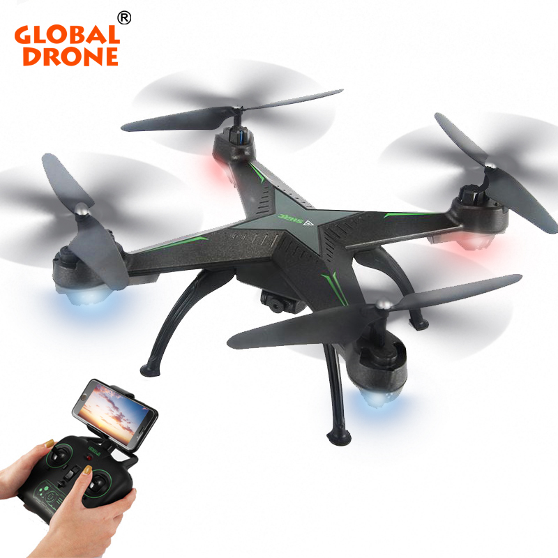 Global Drone Quadcopter 2.4G 4CH 720P Helicopter Wifi FPV Dron Toys for Children RC Drone with Camera HD RTF VS x5c jjrc