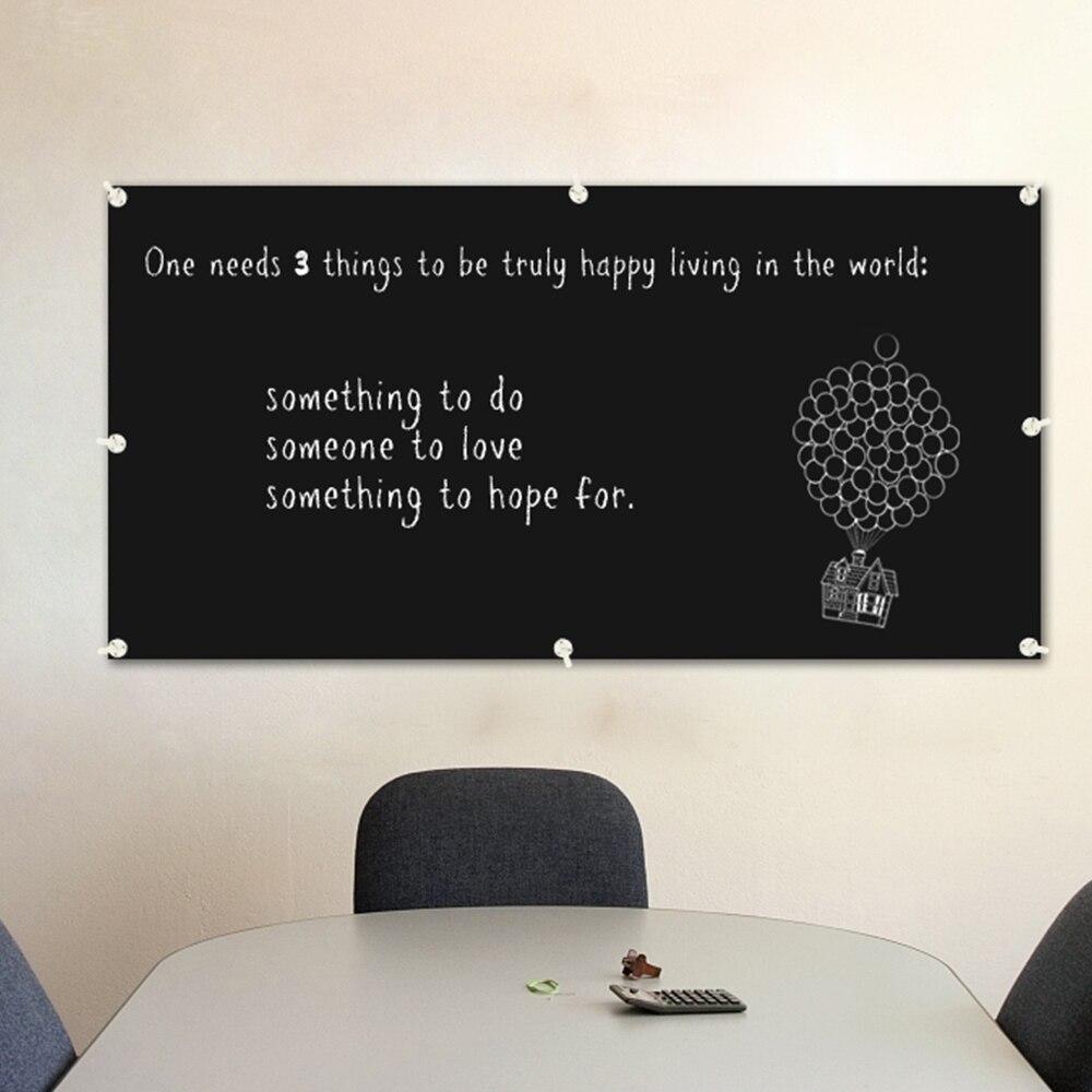 Beroemd Magnetische bord voor muur en holding magneten flexibele krijtbord @GV46