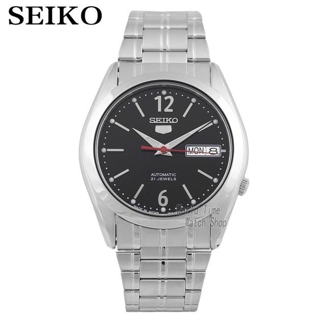 Seiko Horloge Mannen 5 Automatische Horloge Top Merk Luxe Sport Mannen Horloge Set Waterdichte Mechanische Militaire Horloge Relogio Masculinosnk