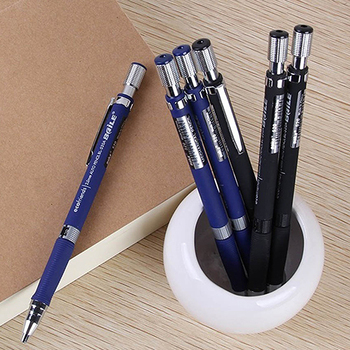 1Pc 2.0mm Black Lead Holder Drafting Drawing Study Stationery Mechanical Pencil Office & School Supplies