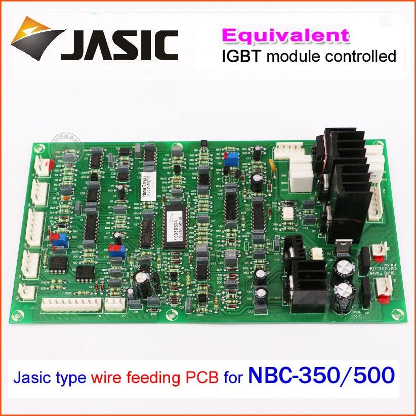 scheda del pannello di controllo del trainafilo NBC350 / 500 - Attrezzatura per saldare - Fotografia 2