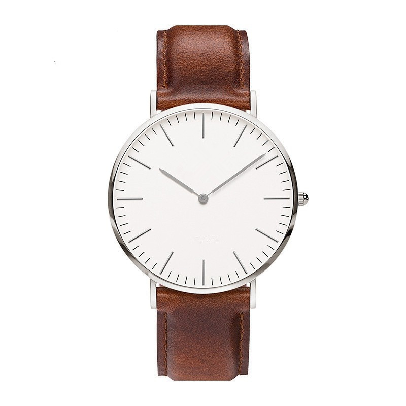 Reloj Hombre Casual Men Watches Top Brand Luxury Leather Quartz Wrist Watch Slim Business Watch Men Male Clock Relogio Masculino mens watches top brand luxury 2017 aviator white automatic mechanical date day leather wrist watch business reloj hombre