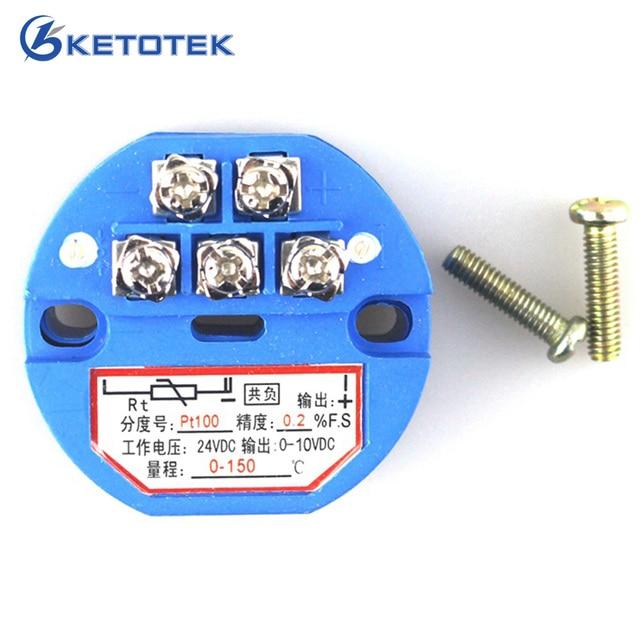Zaawansowane Temperatury czujnik z nadajnikiem PT100 odporność termiczna 0 150 EA74