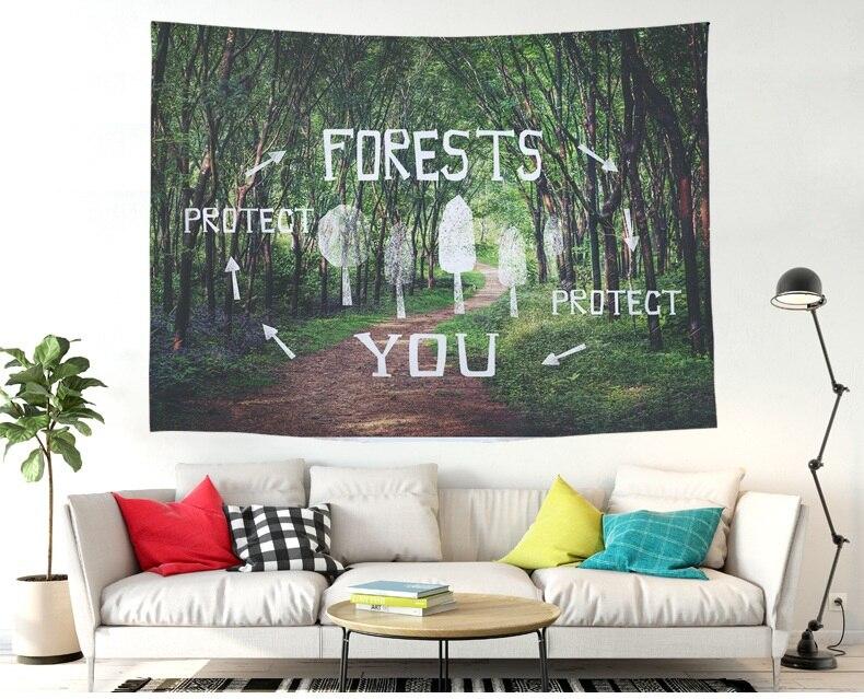 @1  mylb 2 Размер Гобелен Зеленый Суккуленты 3D Цветочное Искусство Ковровое Одеяло Коврик Для Йоги Деко ✔