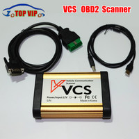 Best Price Quality A VCS Scanner V1 5 OBD II 16 PIN Interface Auto Vehicle Communication