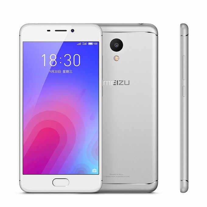 Original Meizu M6 16GB ROM global firmware 4G LTE MEILAN 6 Mobile Phone 5 2  inch 3070mAh battery MTK6750 Octa core EU charger