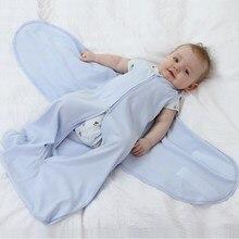 Детский спальный мешок весенние детские спальные мешки для новорожденных пеленки коконы для конверты для новорожденного для новорожденны...(China)