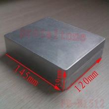 10 pcs PB-N1512 Professional DIY Aluminum Metal GUITAR EFFECT PEDAL BOX, 145 (L) x120 (W) x39 (H) mm