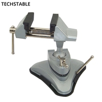 High quality Small vise aluminum table vise movable table vise can be rotated 360 degrees mini vise