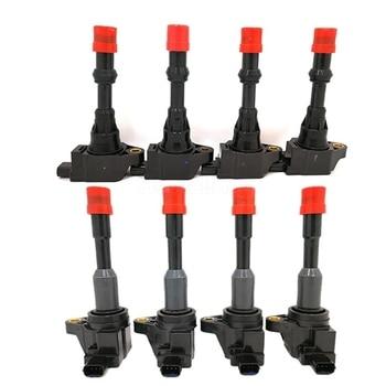 8 Uds para Honda Civic 7 8 VII, VIII JAZZ FIT 1,2, 1,3 de 1,4 PACK de bobina de encendido 30520-PWA-003 30521-PWA-003