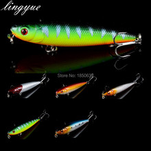 LINGYUE Crankbait 7CM Slow Floating Jerkbait 10G 0.35 oz Hard Bait Fishing Lure Pencil Fishing Tackle