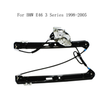 For BMW E46 3 Series 1998 2005 Power Electric Car Window Regulator Window Lifter Replacement Front