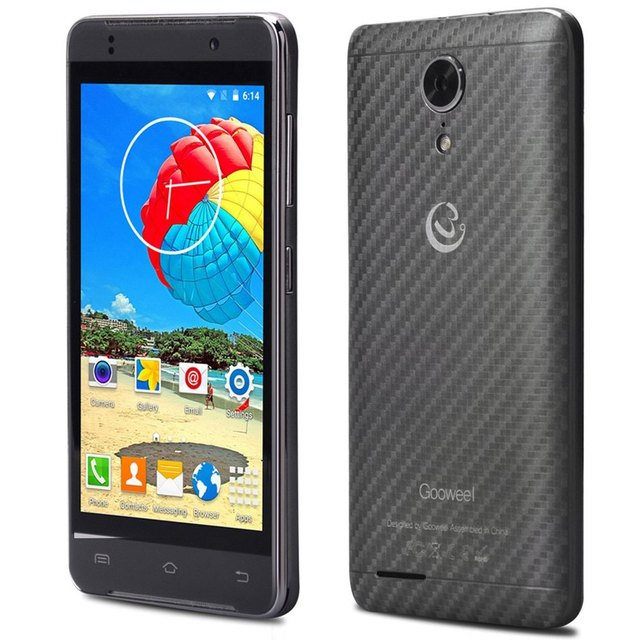 Gooweel M9 MINI+ Cell Phone MTK6580 1.3GHz Quad Core 4.5inch 512MB 4GB Mobile Phone Dual SIM Android5.1 3G 5MP Camera Smartphone