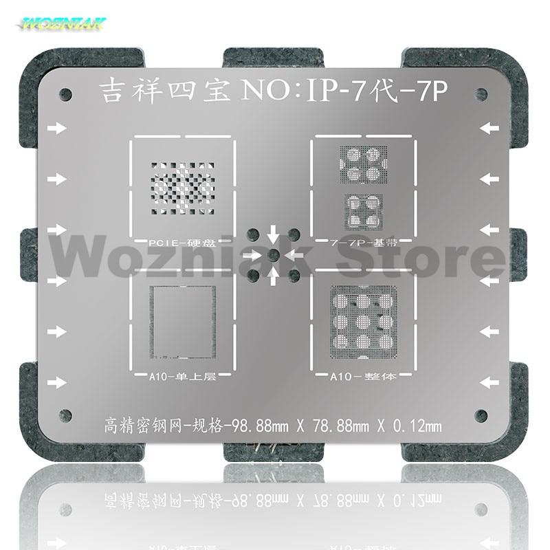 Wozniak WL NAND CPU Chip BGA Reball ón növényi acél Net Tin Mesh - Szerszámkészletek - Fénykép 4