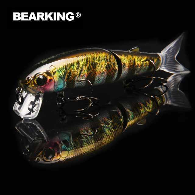Bearking Professional Jointed Fishing Lure For Saltwater and Freshwater 3