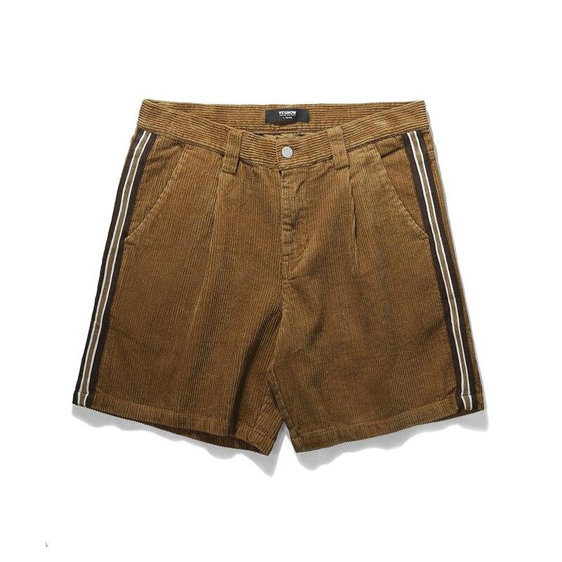 VIISHWO Men Shorts Cotton 2018 Men Short Pants Zipper Casual Summer Trousers Solid Shorts Street Wear New sweatpants KD1469182