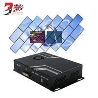 45 135 225 315 Degree Rotation Vertical Screen Video Wall Controller Processor 2x2 HDMI VGA AV