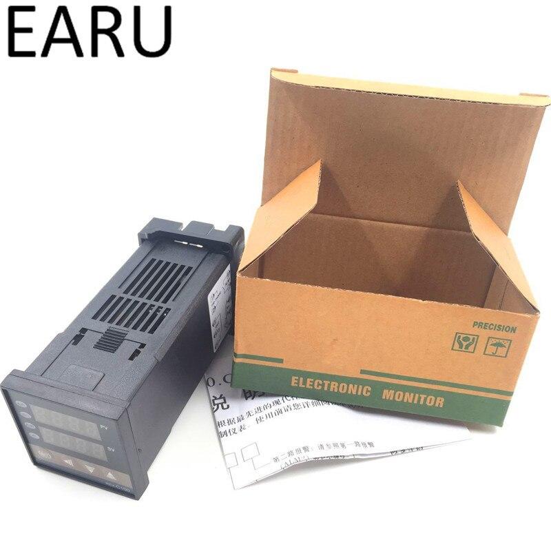 Новый REX-C100 цифровой pid Контроль температуры Управление; Термостат Термометр ССР твердотельные реле Выход Универсальный Вход