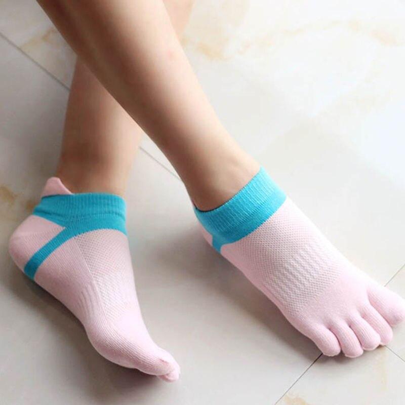 1 Paar Frauen Fünf Finger Komfortable Weiche Baumwolle Socken Atmungsaktive Calcetines Socken Sommer Herbst Casual Zehe Socken Nette Neue Hochwertige Materialien