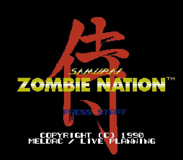 Zombie Nation Pocket game 72pins 8bit Game card Drop shipping!