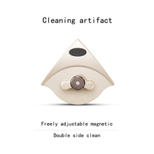Double-sided glassware artifact home high-rise cleaning window tool brush scraping strong magnetic