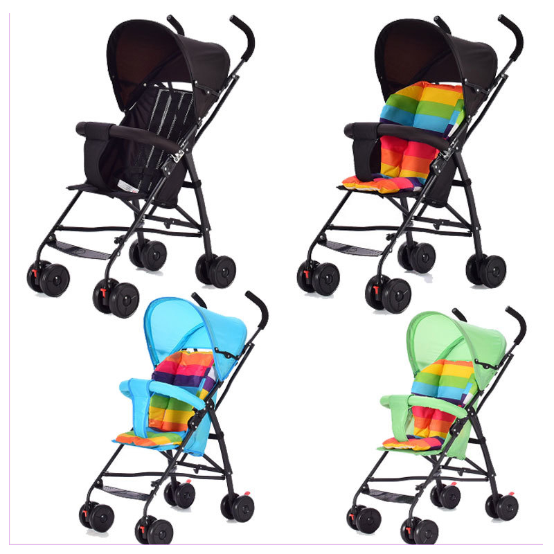 Ultra Lightweight Portable Folding Steel Baby Umbrella Car Stroller Baby Carriage Pram Buggy Pushchair Removable Sunshade 6M~3Y sunshade maker tor kid infant baby strollers pram buggy pushchair seats